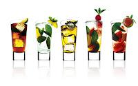papel de parede Cocktail de frutas