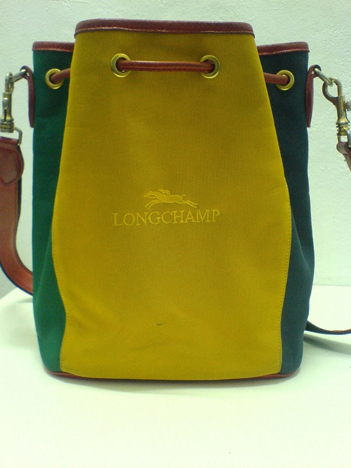 THE BAGBLOGSHOP.  VINTAGE LONGCHAMP SHOULDER BAG (SOLD) 77fceb8947