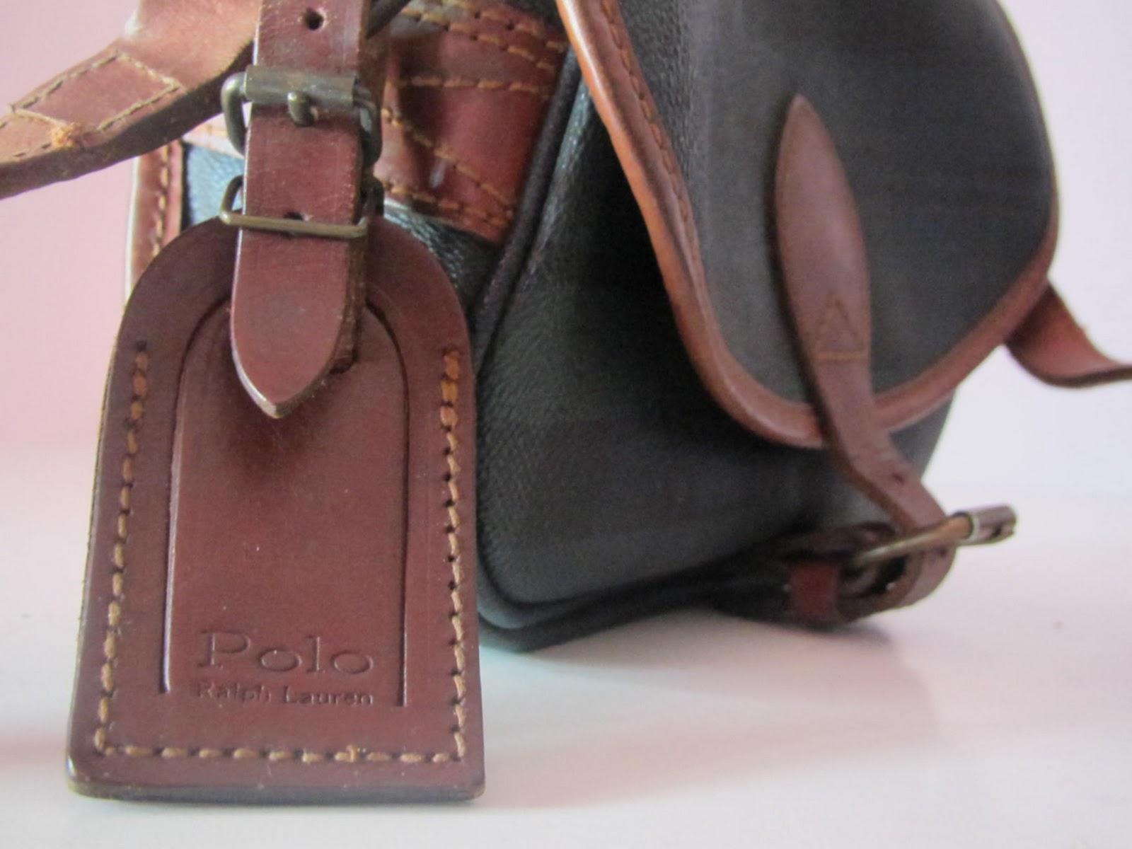 THE BAGBLOGSHOP.  VINTAGE POLO RALPH LAUREN SLING BAG (SOLD) e9f6ef1ce1