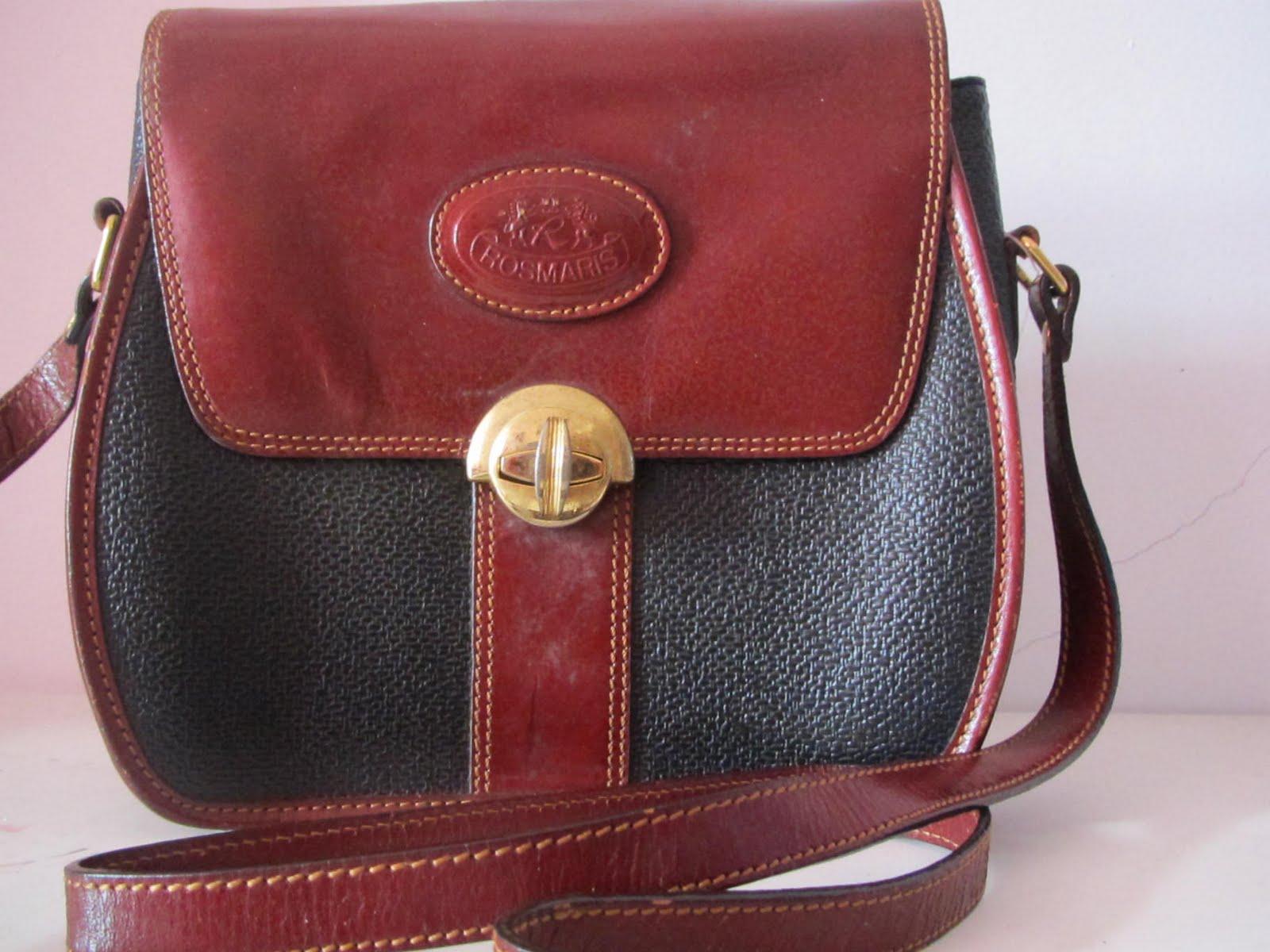 59c473fff095 VINTAGE ROSMARIS FRANCE SLING BAG (SOLD). This is Original Rosmaris Vintage  Sling Handbag