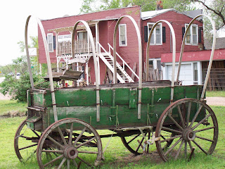 Old Western Style Carriage