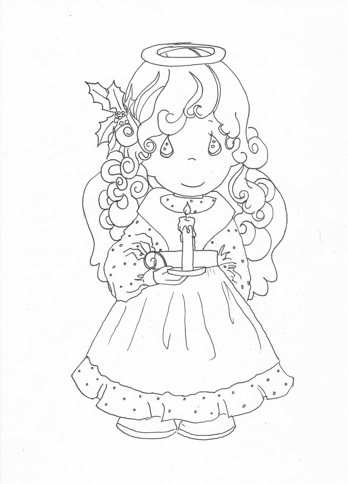 Precious Moments Baby Angels Drawings precious moments