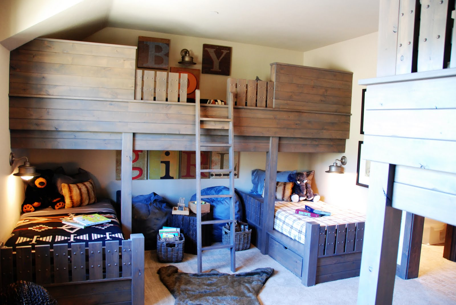 Peppertree Kitchen Bath Custom Bunk Bed Room