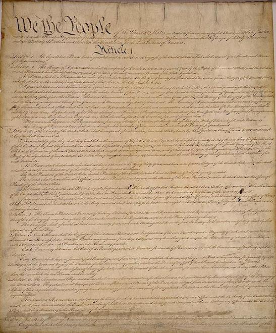 U.S. CONSTITUTION, pg 1