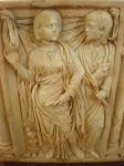 Figures from a Roman sarcophagus, Alcazar, Cordoba