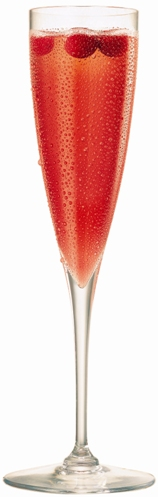 ... in the Kitchen: Champagne Cocktail Discovery: The Korbel Poinsettia