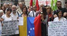 Con el pueblo hondureño en Barcelona
