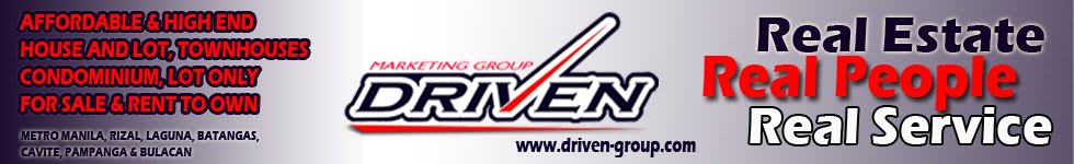 Philippine Real Estate Investment Tips: DRIVEN Marketing Group Inc.