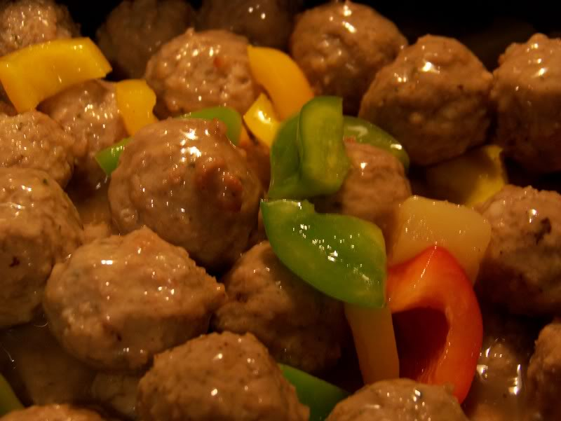 Sentiments from my Kitchen: Sweet and Sour Meatballs