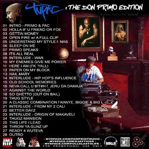 dj tiger tupac and dj premier the don primo edition back cover