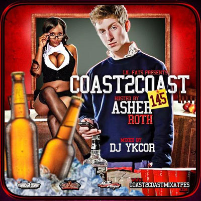download : dj ykcor coast 2 coast mixtape volume 145 hosted by asher roth