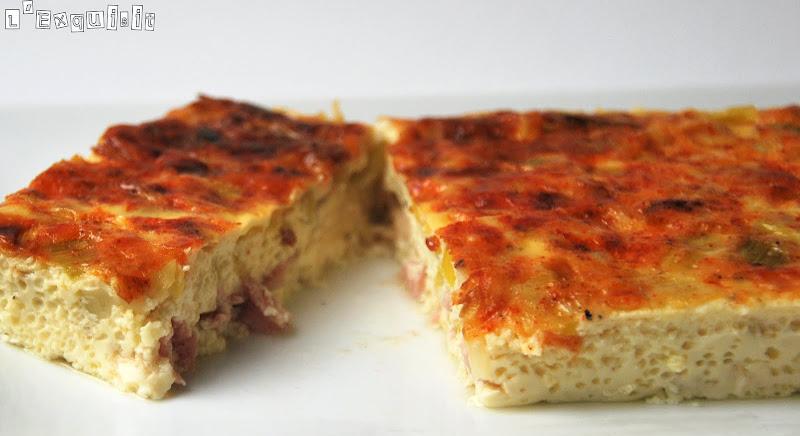 Flan Estilo Baño Maria:Flan de Parmesano, puerros y jamón – L'Exquisit
