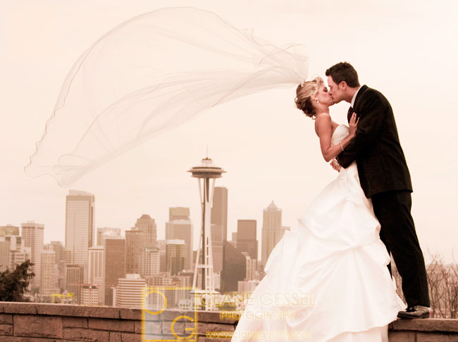 best kerry park wedding, top seattle photographers