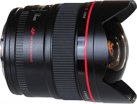 canon 14mm F/2.8L II ultra ultra wide lens