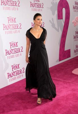 Aishwarya Rai Pink Panther Premiere 2
