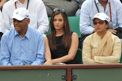 Photos of Aishwarya Rai in french open II