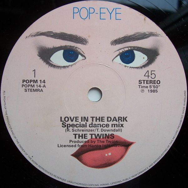 The Twins - Love In The Dark (Maxi 1985)