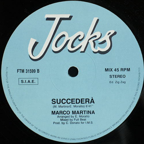 Marco Martina - Ticket To Shanghai (Maxi 88')