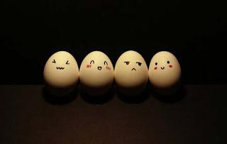 Creatividad con huevos
