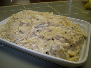 Friendly kitchen chicken fettuccine alfredo have you ever watched sandra lee on food network shes the lady that does semi homemade meals well i have never actually cooked one of her recipes forumfinder Choice Image