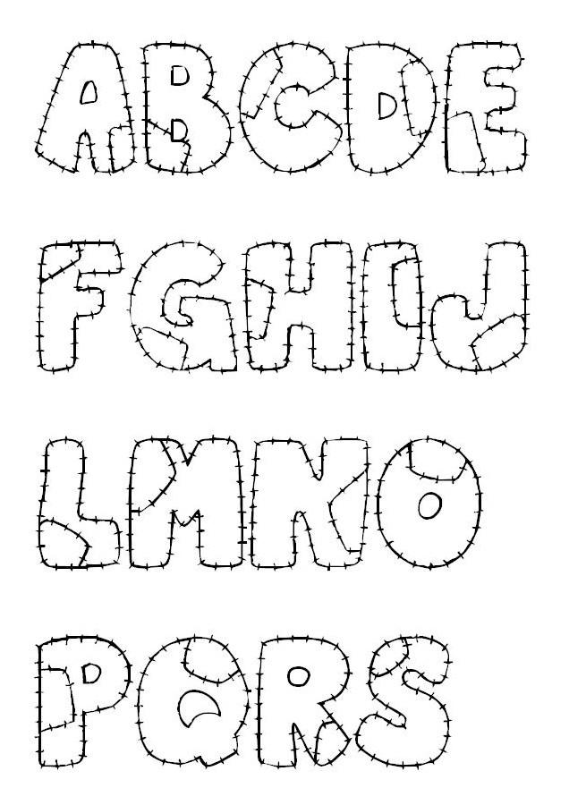 Letras para cartazes