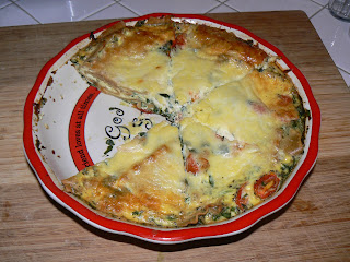 Folding On: The Case of the Lasagna Frittata