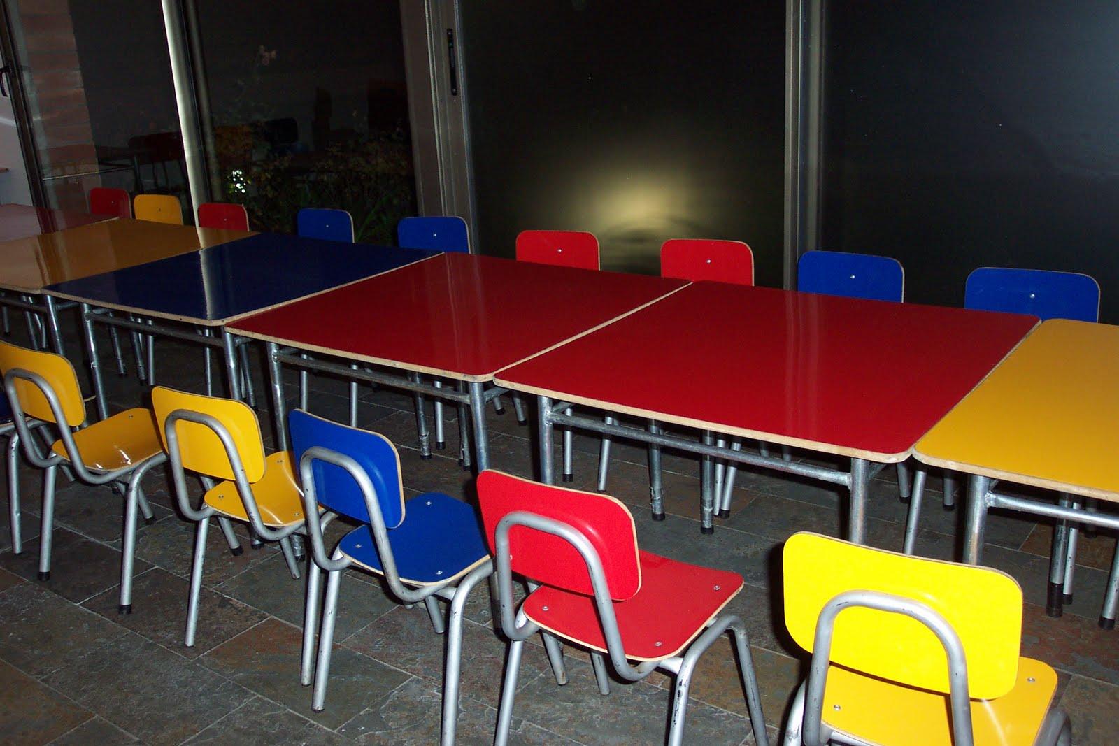 Mesas y sillas infantiles arriendo mesas y sillas para for Todo mesas y sillas