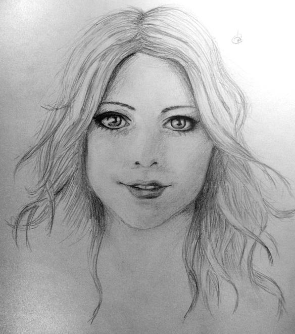 Dibujos artisticos rostros de mujer a lapiz  Imagui