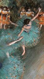 Edgar Degas. Pastel y gouache sobre papel