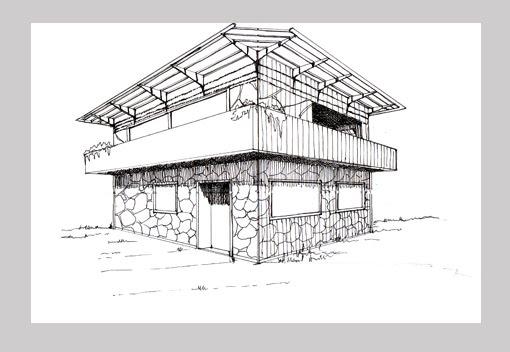 Dibujo y creaci n espacio y profundidad i vocabulario for Dimensiones arquitectonicas