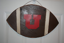 U Football Door Hanger