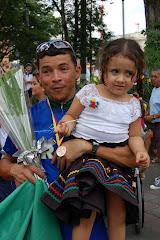 Comemorando na Colômbia