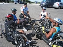Handcycle no Brasileiro