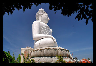 The Big Buddha is 45 meters tall