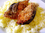 Panfried Fish with Oatmeal