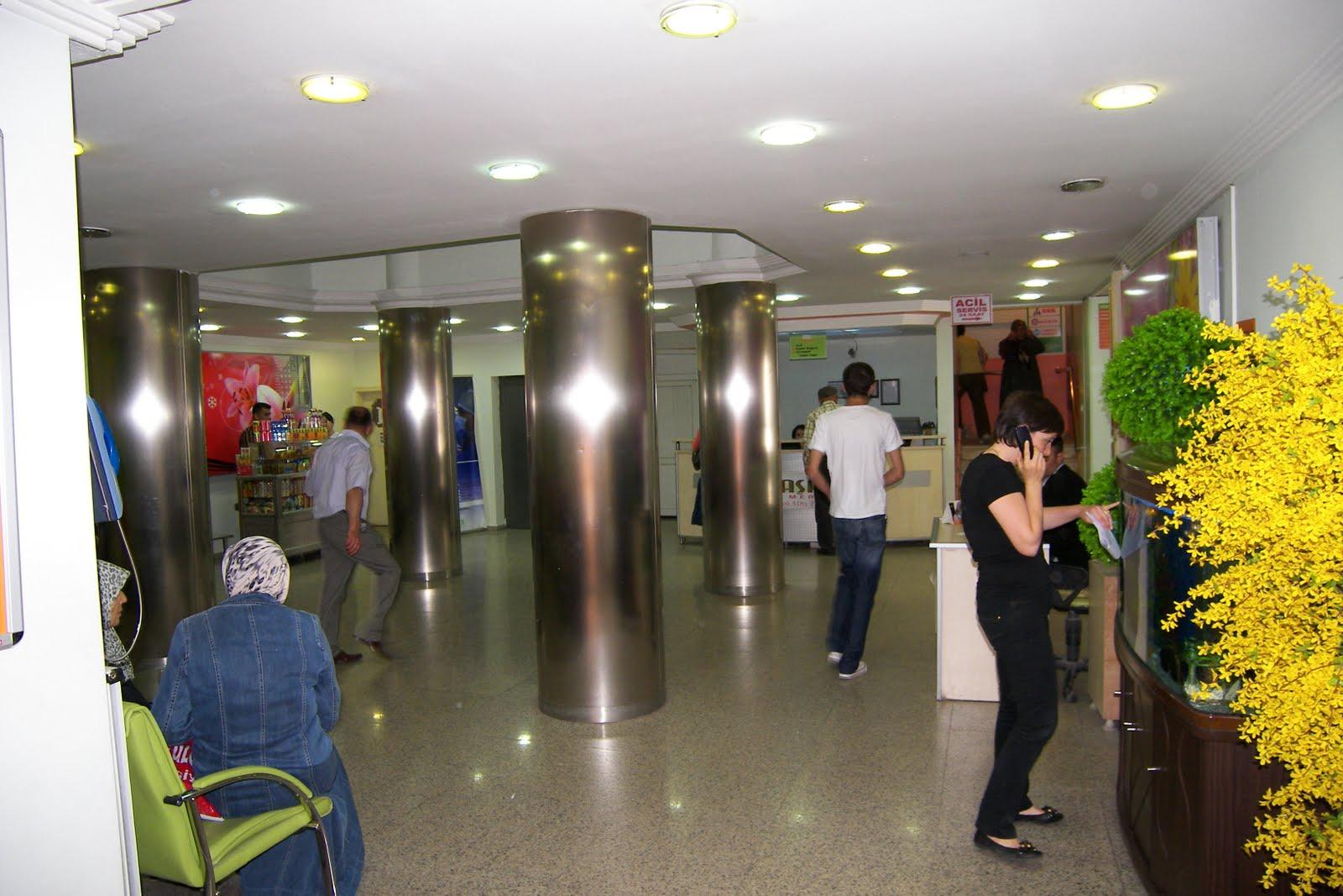 Özel yaşam tıp merkezi kırıkkale nin şehir merkezinde 5 katlı