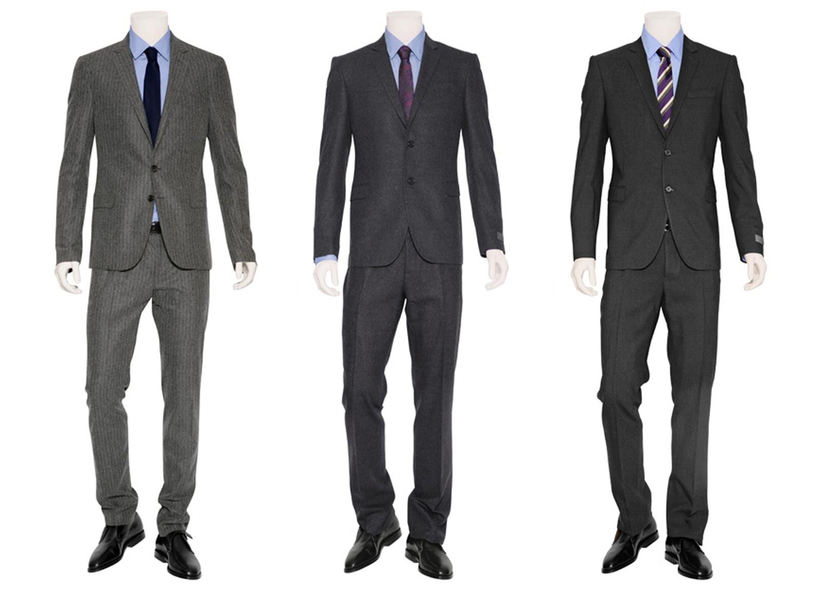 Les costumes de mode classique pour hommes