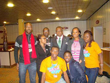 Esther leading Nigerian youth Delegation at COP15