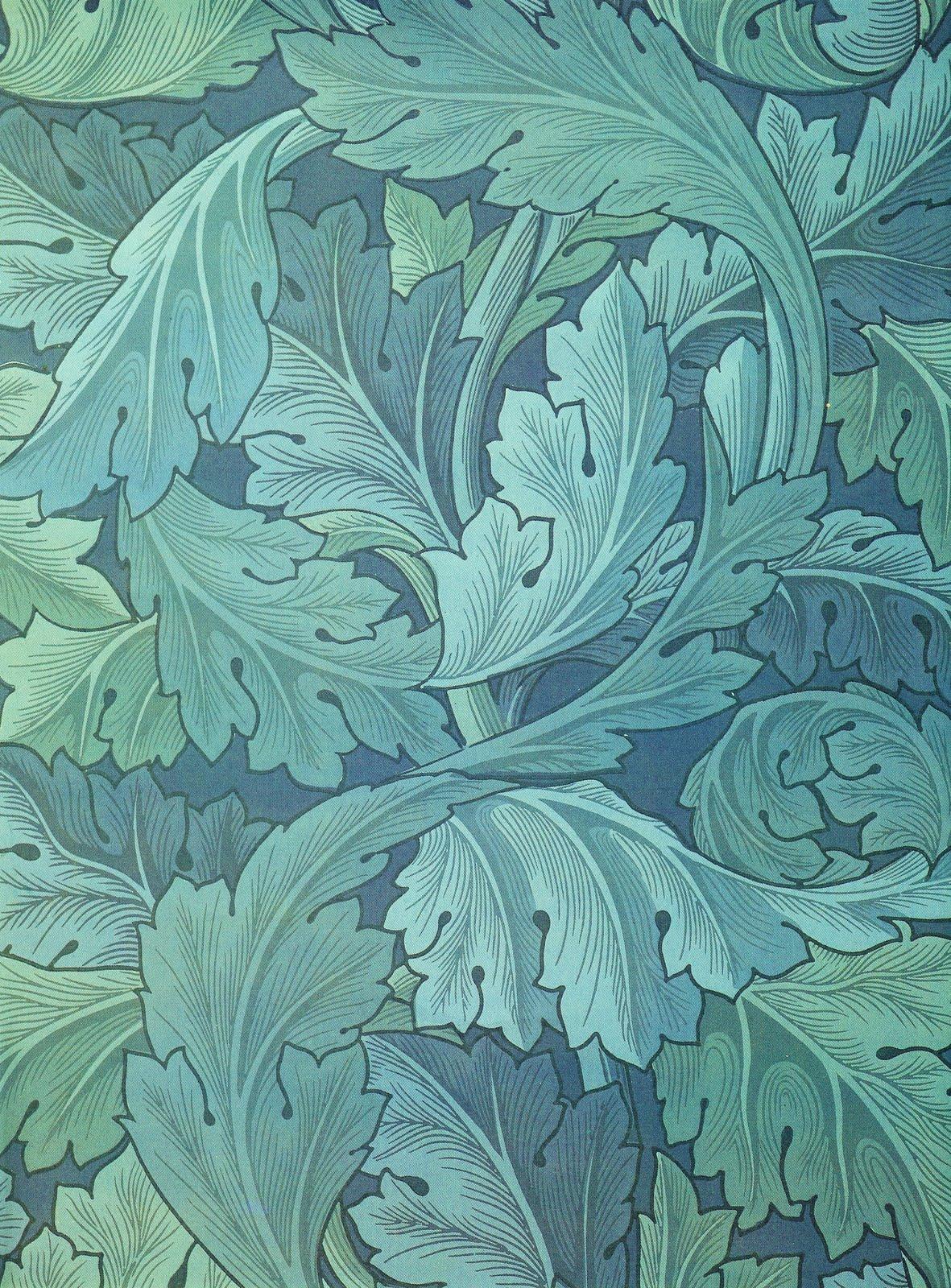 dr burnshead william morris 1873 acanthus wallpaper