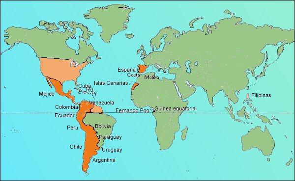 el mundo que lengua hablan: