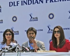 Lalit Modi Shilpha Shetty and Preity Zinda