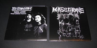 In Disgust/Massgrave split E.P.