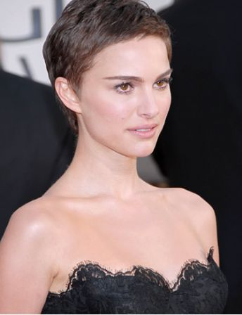 Natalie Portman: Short Hair. She even looked good after she shaved her head