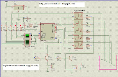 Micro controller based water level indicator Microcontroller At89c2051 (8051 family) Based Level Monitor