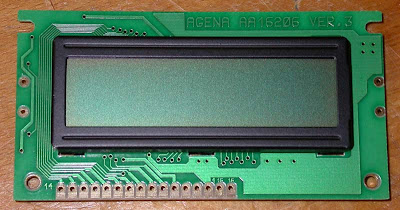 2 line 40 character LCD PIN Configuration