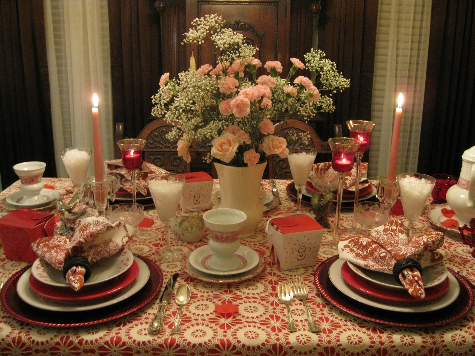 Tablescapes By Diane Re Post My Valentines Day