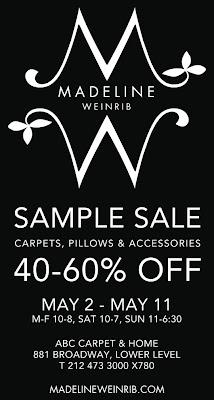 Madeline Weinrib Sample Sale! - Elements of Style Blog