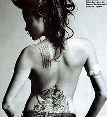 Back othe neck tattoo for Rihanna. posted January 14, 2008, 12:05PM |