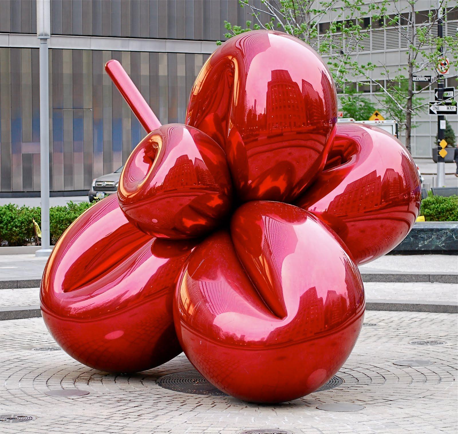 ... sculpture b... Jeff Koons Balloon Sculpture