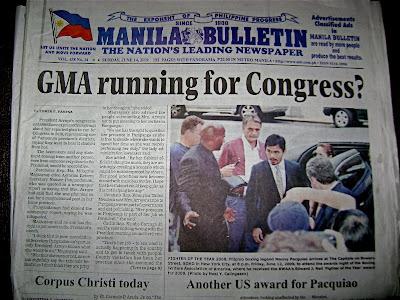 My Blog Photo in a Philippine Newspaper
